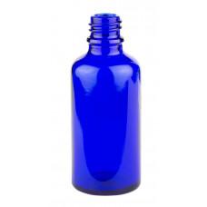 BLUE GLASS DROP DISPENSING BOTTLE TYPE (III) 50ML