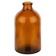 AMBER GLASS TYPE (II) BOTTLE SULPHUR TREATED & WASHED 100ML